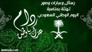 Photo of رسائل وعبارات وصور تهنئة بمناسبة اليوم الوطني السعودي