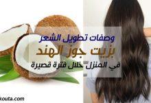Photo of وصفات تطويل الشعر بزيت جوز الهند في المنزل خلال فترة قصيرة