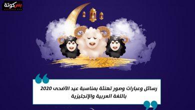 Photo of رسائل وعبارات وصور تهنئة بمناسبة عيد الأضحى 2020 باللغة العربية والإنجليزية