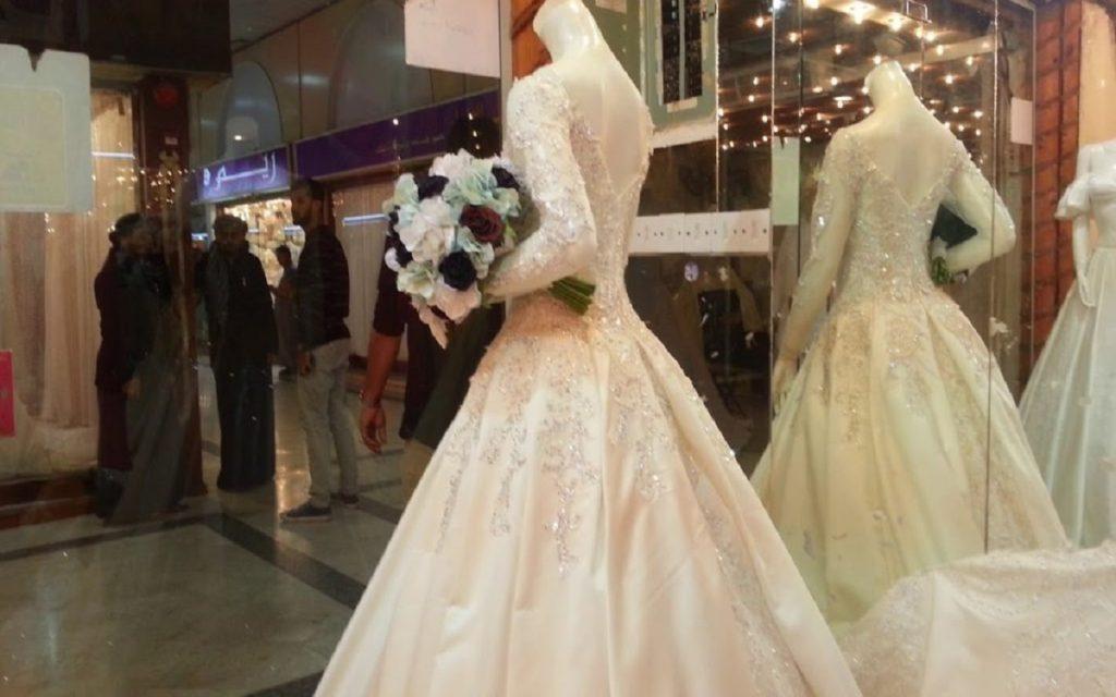 أفضل بوتيكات فساتين الزفاف في جدة